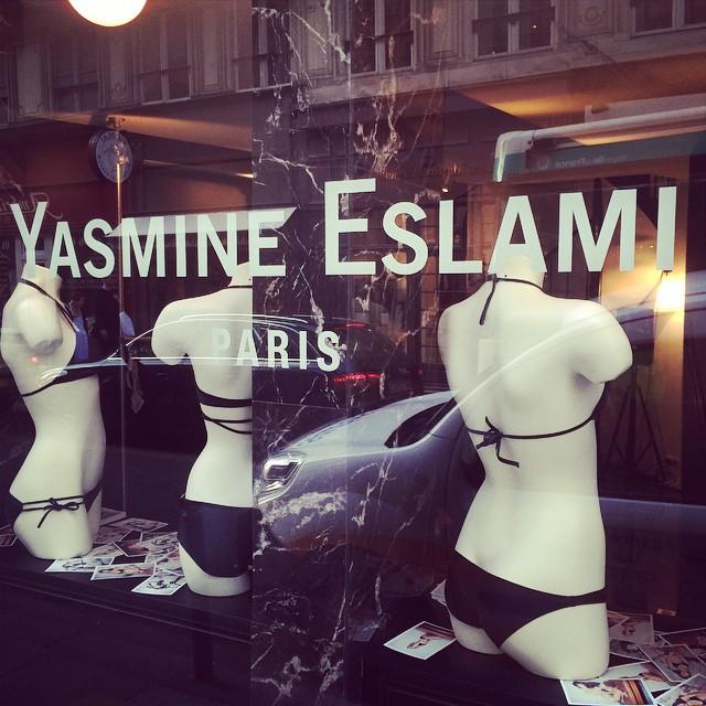 YASMINE ESLAMI ss 2015 @yasmineeslami #parisfashionweek YE boutique #paris