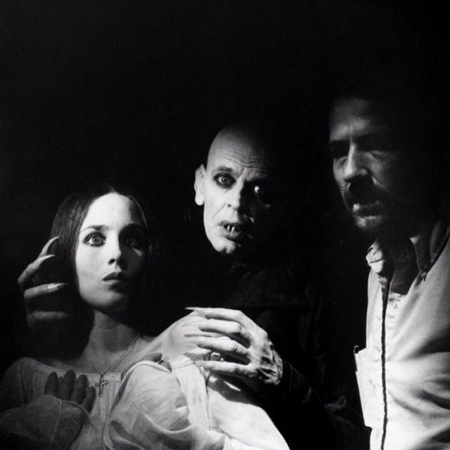 """Eine symphonie des grauens written by FW Murnau , here in the W Herzog """"Nosferatu"""" version #wernerherzog #klauskinsky #isabelleadjani #pioneers #cinema #lovelikeblood #popolvuh #brunoganz #rolandtopor #masterpiece"""