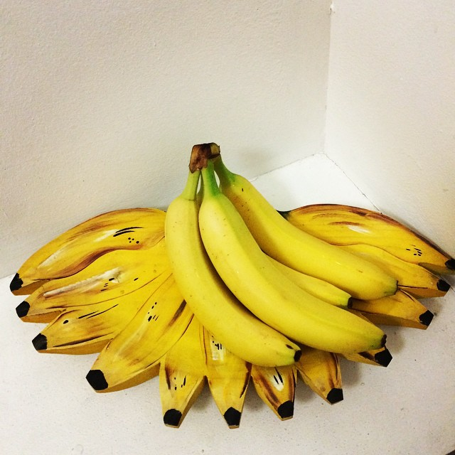 Have a great weekend everyone #tgif going bananas #yellow #banana