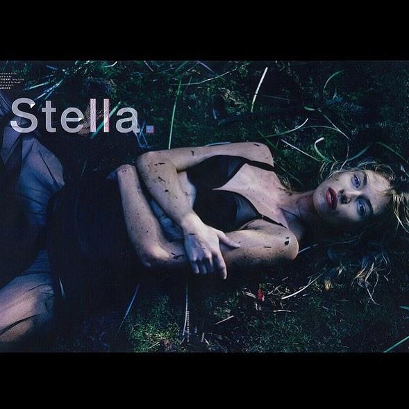 Stella Maxwell wearing Yasmine Eslami lingerie for LOVE magazine new issue @yasmineeslami @stellamaxwell @kegrand @lovemagazineinsta #lovemagazine #yasmineeslami #lingerie #press #publicimagepr