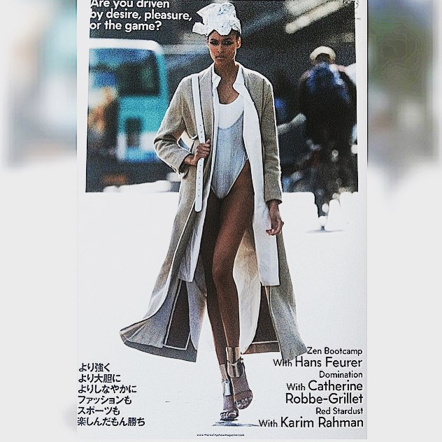 "René Storck coat ""Mandola"" linen and wool featured in the Reality Show magazine photographed by Hans Feurer styled by Caroline Christiansson @christianssonparis @ladytiffanygodoy #renestorck #therealityshow #hansfeurer #press #autumnwinter"