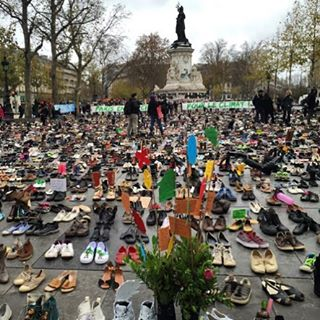 Place de la République Paris #marchforclimatechange #paris #cop21 #avaaz