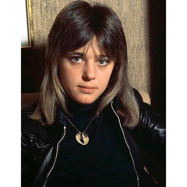 teenage crush #suzyquatro #suzy #leather #rocknroll #queen