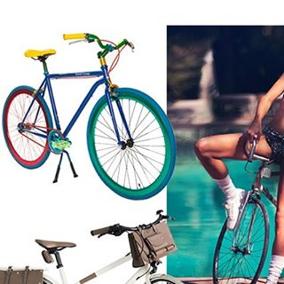 """Martone Cycling Co """"Carioca"""" bicycle featured on Vogue , available in June @martonecyclingeurope @vogueparis #martonecycling #vogue #vogueparis #bicycle #brasil #carioca #whatbikewillyouweartoday @dwt2 @lorenzomartone #publicimagepr"""