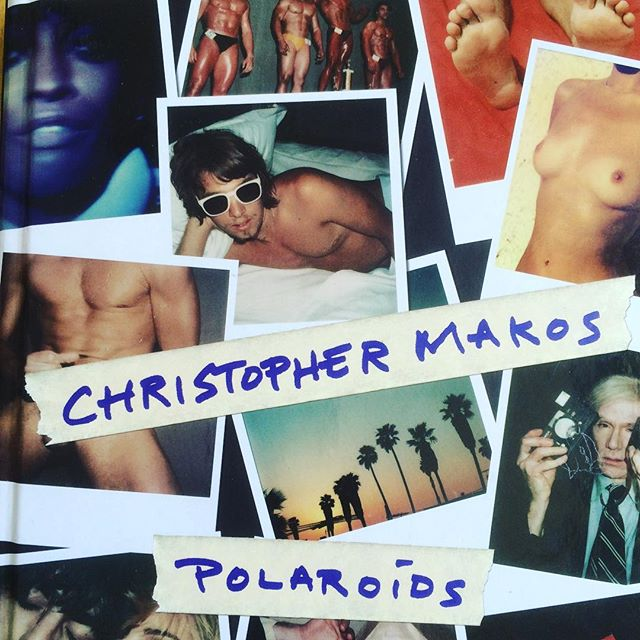 so glad I found this book in Noto #christophermakos #polaroids #andywarhol #photology #gallery #warholènoto #photography #iconic