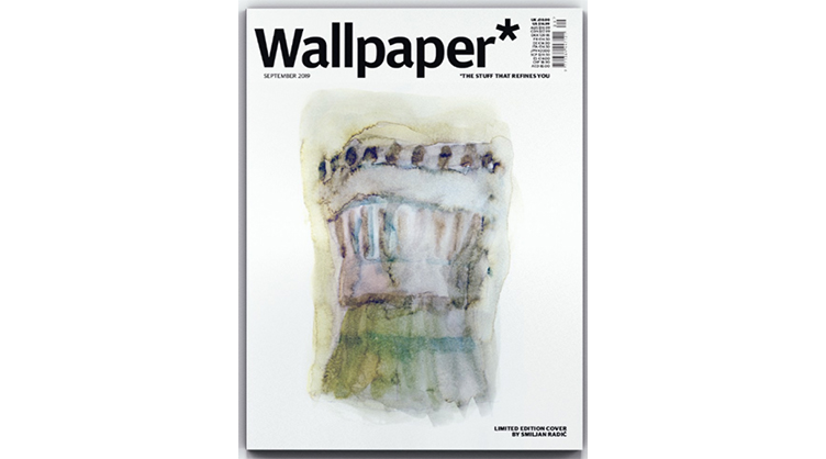 Zana Bayne Featured In Wallpaper September Issue Public Image Pr Fashion Press Office Paris