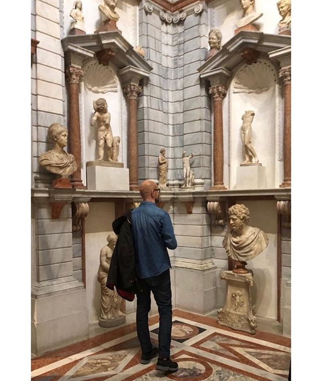 thank you for the visit @lucamassimobarbero and for the weekend #learnandplay #domusgrimani #palazzogrimani #storia #heritage #venezia #arteclassica @museopalazzogrimani #lucamassimobarbero #publicimagepr #art #culture #allways #love #life