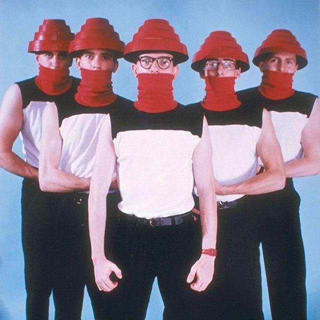 and he ...wore a mask #staysafe #stayhome #staythefuckhome #devo #punkrock #wearamask #wearahat